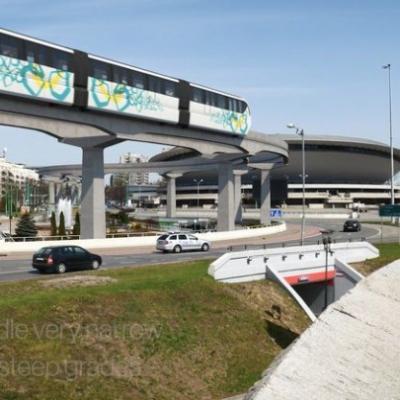 Katowice a letiště Pyrzowicích  by mohlo spojit nadzemní metro