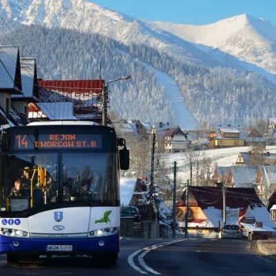 Nové autobusové linky propojily polské a slovenské Tatry