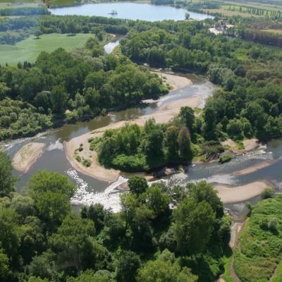 Meandry řeky Odry, foto: Jiří Spáčil